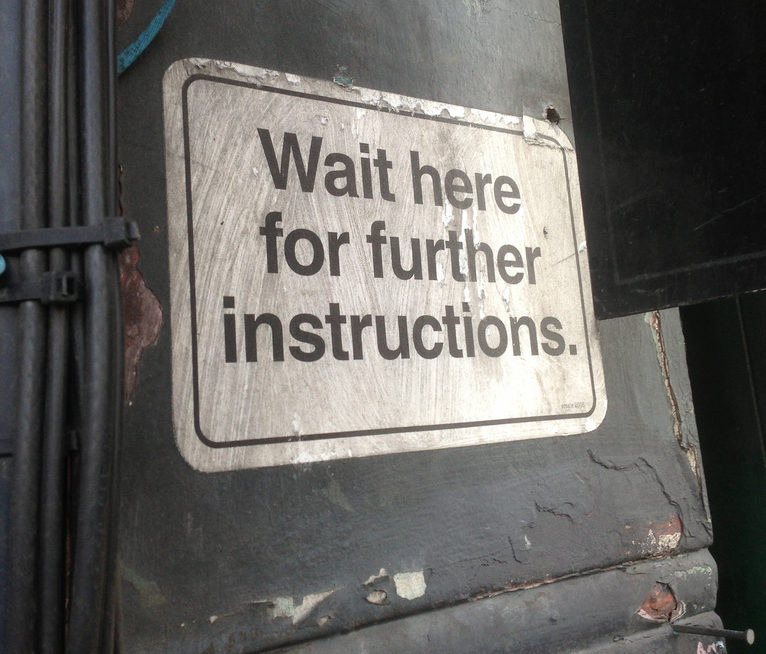 Wait-for-instructions